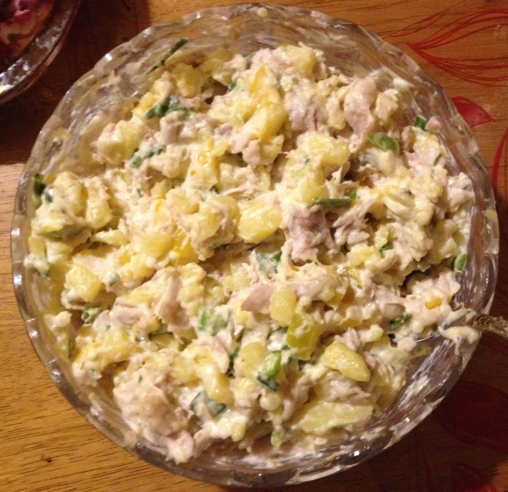 Куриный салат нежность рецепт