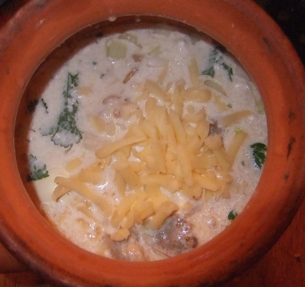 Рецепт жульена из шампиньонов пошагово